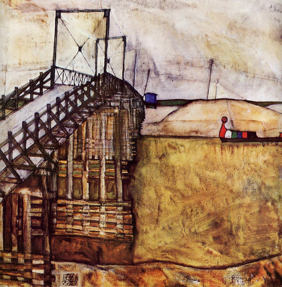 The Bridge, 1913 by Egon Schiele